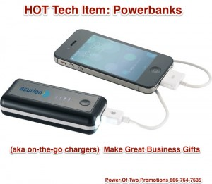 Powerbank - Backup Charger -Business Gifts Mobile Tech - Power Of Two Promotions