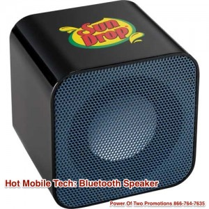 Bluetooth Speaker -Business Gifts Mobile Tech - Power Of Two Promotions