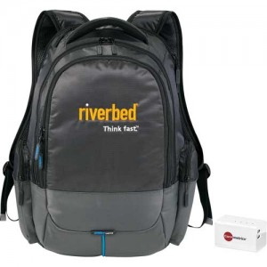 Powerbank Backpack - Backup Charger - Business Gifts Mobile Tech - Power Of Two Promotions